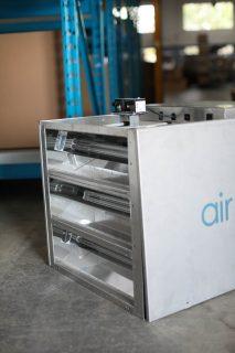 Air sanitization in hospital